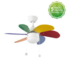 ventilatori da soffitto prezzi ventilatore da soffitto moderno colorato per ragazzi 33179