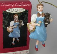 2003 wizard of oz dorothy and tin hallmark ornament at the
