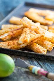 spicy yuca fries with garlic sauce recipe u2013 stupid easy paleo
