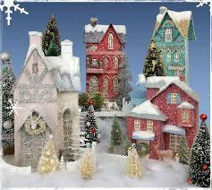 christmas houses vintage christmas houses traditions