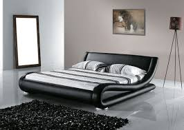 Super King Bed Size Beliani Leather Water Bed Super King Size Full Set Avignon