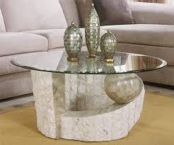 stone glass coffee table szahomen com