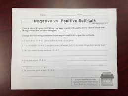 printable writing paper for 2nd grade positive thoughts in first and second grades school counseling negative to positive self talk worksheet 2nd grade jan 2015