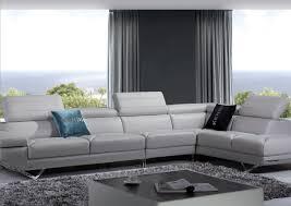 sofa grey contemporary sofa perfect gray leather sofa ashley