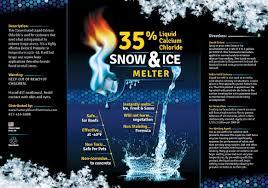 amazon com 35 liquid calcium chloride snow ice melter