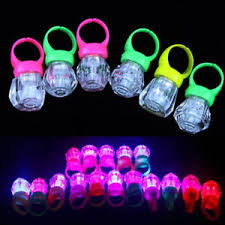 led light up rings 10x led light up flashing finger rings glow party favors glow kids