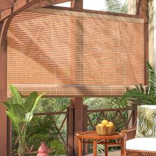 Roller Shades With Curtains Beachcrest Home Outdoor Roller Blind U0026 Reviews Wayfair