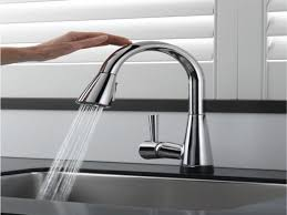 touch faucets for kitchen kitchen touch kitchen faucet inside pleasant delta essa touch2o