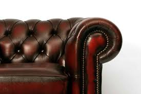 Uk Chesterfield Sofa by Chesterfield Antique Leather Corner Sofa Button Seat Furniture