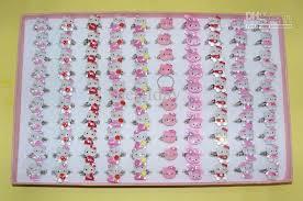 baby girl rings images Children kids baby girls gift ring girls hello kitty ring jpg