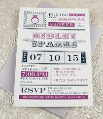 bridal shower invitation templates vintage ring bridal shower invitation template print