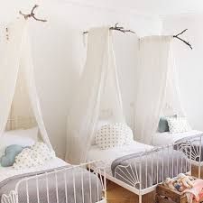 Bed Canopy Amazing Kid S Room For 3 By Ikea I Am Seriously Blown Away By