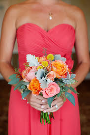 wedding flowers coast flowers decor real weddings wedding style orange pink
