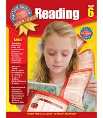 master skills reading workbook grade 6 carson dellosa publishing