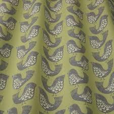 scandi birds curtain fabric free uk delivery terrys fabrics