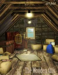 the wooden attic 3d models and 3d software by daz 3d