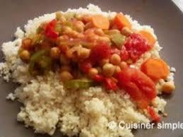 cuisiner simple recette couscous aux légumes facile les recettes de couscous aux