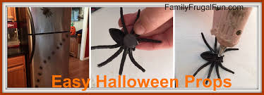 easy homemade halloween props family finds fun