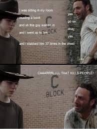 Carl Meme - the walking dead season 3 recapped in memes people walking dead