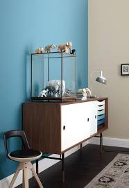 wohnzimmer blau beige wohnen mit farben wand in blau und beige bild 4 schöner wohnen