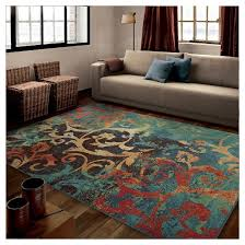 Better Homes And Gardens Rugs Watercolor Scroll Multi Area Rug Orian Target