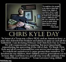 Chris Kyle Meme - feb 2 tx remembrance of chris kyle day topic