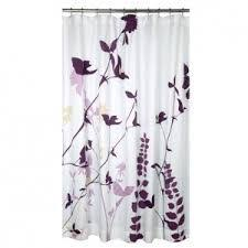 Purple And Brown Shower Curtain Purple Shower Curtain Bathroom Pinterest Apartments Guest