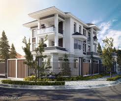 small house villa by fresh house vietnam 3d nvus designs