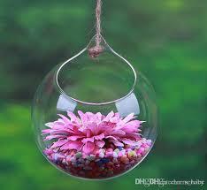 Flowers Glass Vase Flowers Ball Hangin Glass Planter Vase Air Plants Terrarium