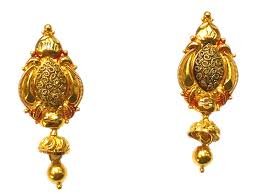 images of gold ear rings jewellery