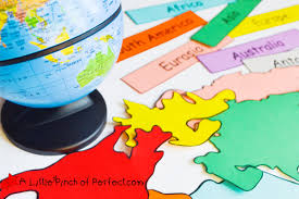 world map geography activities for kids free printable