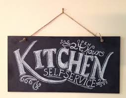 unique kitchen gift ideas kitchen chalkboard sign kitchen wall typography