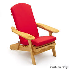One Piece Rocking Chair Cushions Garden Patio Wooden Adirondack Rocking Chair