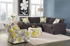 Yellow And Gray Accent Chair Accent Chairs In Living Room Home Living Room Ideas