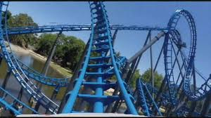 Batman Ride Six Flags Over Georgia Blue Hawk Pov Hd Six Flags Over Georgia Roller Coaster Atlanta