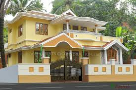 Kerala Home Pillar Design Compound Wall Designs For Home Homepeek