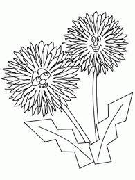 printable flower garden coloring page coloringpagebook com