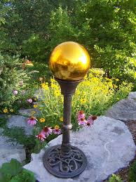 Gazing Balls For Gardens Gazing Ball Blue Multiple Colors By Oakland Living Truth In Craft