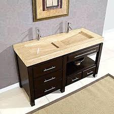 integrated sink vanity top 48 in double sink vanity top integrated stone sinks bathroom 48
