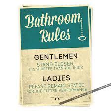 Vintage Bathroom Decor by Online Get Cheap Vintage Bathroom Signs Aliexpress Com Alibaba