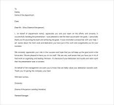 thank you letter to employee 10 free sle exle format
