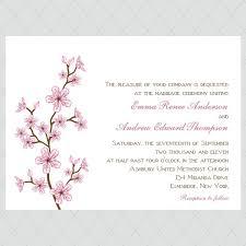 cherry blossom wedding invitations cherry blossom wedding invitations style 422 whimsicalprints