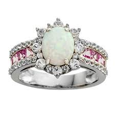 pink gemstones rings images Rings gemstones birthstones for jewelry watches jcpenney 8,0,0