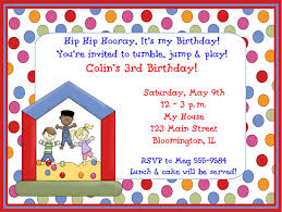kids birthday party invitations with photo image collections