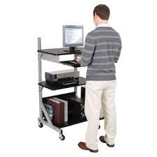 Mobile Computer Desks Workstations Computer Carts Computer Stands U0026 Stand Up Mobile Workstation