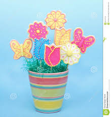 cookie bouquet sugar cookie bouquet stock photos image 28712743