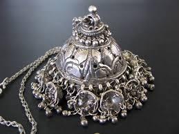 indian metal necklace images Au antique indian amulets ethnic tribal jpg