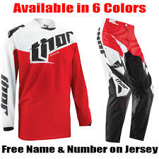 motocross riding gear combos thor mx phase tilt gear combo pro style mx