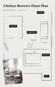 Floor Plan Meaning Inside The Converted One Bedroom Of Two Manhattan Twenty