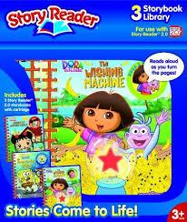 Story Reader 2 0 3 Book Nickelodeon Library Dora Explorer Ni